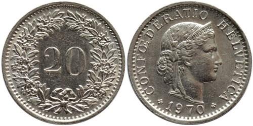 20 раппен 1970 Швейцария