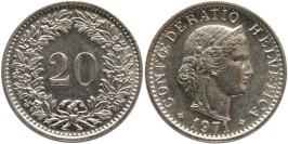 20 раппен 1971 Швейцария