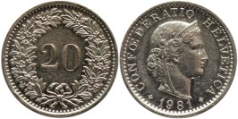 20 раппен 1981 Швейцария