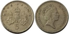 5 пенсов 1996 Великобритания
