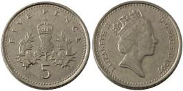 5 пенсов 1997 Великобритания