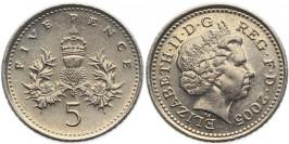5 пенсов 2005 Великобритания