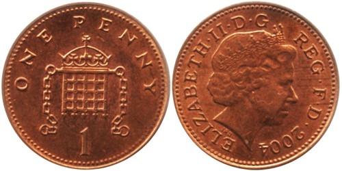 1 пенни 2004 Великобритания