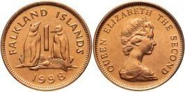 1 пенни 1998 Фолклендские острова UNC