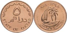 5 дирхамов 1978 Катар UNC