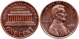 1 цент 1978 США