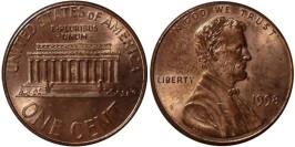 1 цент 1998 США