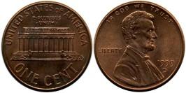 1 цент 1999 D США