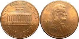 1 цент 2003 D США