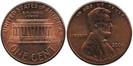 1 цент 2004 D США