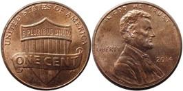 1 цент 2014  США