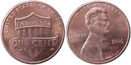 1 цент 2016 США