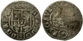 Полторак (1,5 гроша) 1633 Польша — Сигизмунд III — серебро