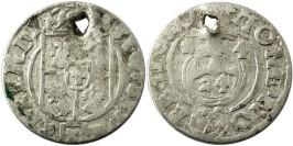 Полторак (1,5 гроша) 1624 Польша — Сигизмунд III — серебро