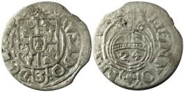 Полторак (1,5 гроша) 1633 Польша — Сигизмунд III — серебро №1