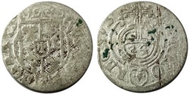 Полторак (1,5 гроша) 1633 Польша — Сигизмунд III — серебро №2
