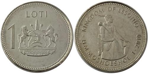 1 лоти 2010 Лесото UNC