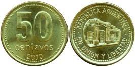 50 сентаво 2010 Аргентина UNC