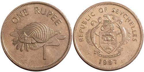 1 рупия 1997 Сейшельские острова