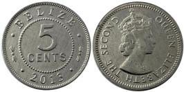 5 центов 2013 Белиз UNC
