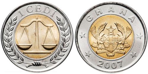 1 седи 2007 Гана UNC