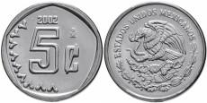 5 сентаво 2002 Мексика UNC