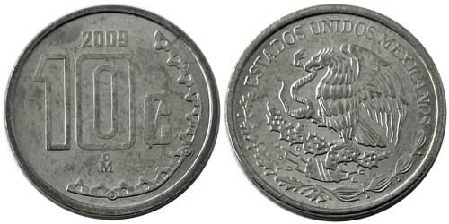 10 сентаво 2009 Мексика UNC