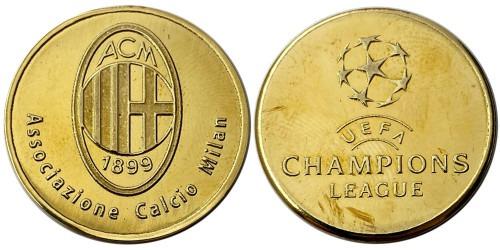 Памятная медаль — Футбольный клуб — Милан