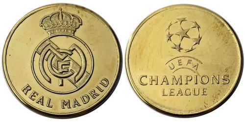 Памятная медаль — Футбольный клуб — Реал Мадрид