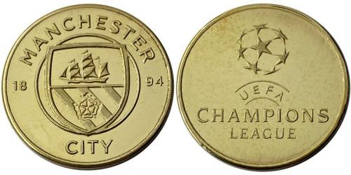 Памятная медаль — Футбольный клуб — Манчестер Сити