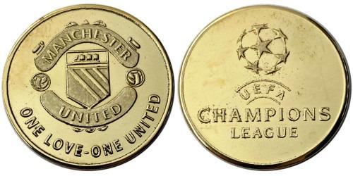 Памятная медаль — Футбольный клуб — Манчестер Юнайтед