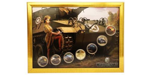 Набор памятных медалей — World of Tanks
