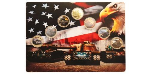 Набор памятных медалей — World of Tanks №1