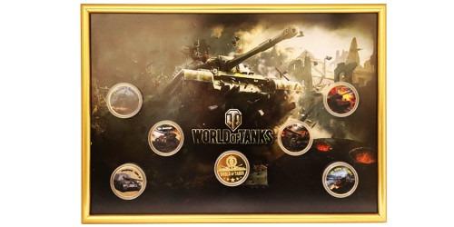 Набор памятных медалей — World of Tanks №2