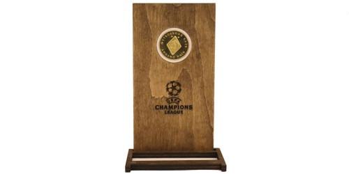 Памятная медаль — Футбольный клуб — Динамо Киев в рамке