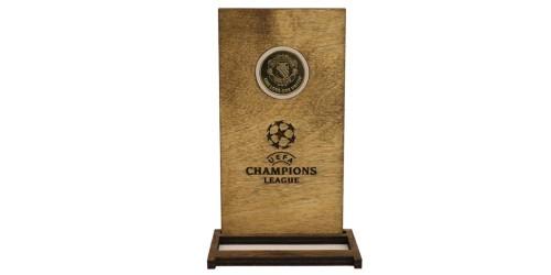 Памятная медаль — Футбольный клуб — Манчестер Юнайтед в рамке