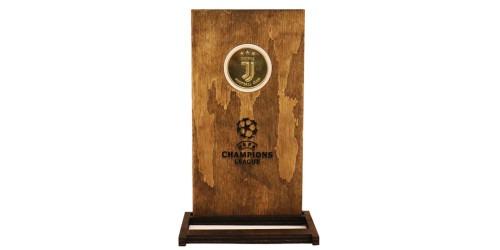 Памятная медаль — Футбольный клуб — Ювентус в рамке