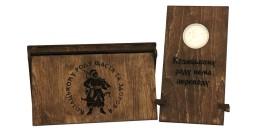 Памятная медаль — Петр Иванович Калнышевский в футляре