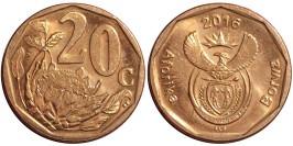 20 центов 2016 ЮАР