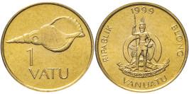 1 вату 1999 Вануату UNC