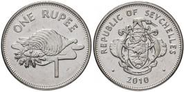 1 рупия 2010 Сейшельские острова — Сталь с никелевым покрытием — магнетик UNC