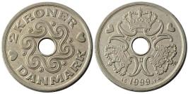 2 кроны 1999 Дания