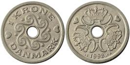 1 крона 1998 Дания