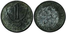 1 крона 1943 Богемия и Моравия