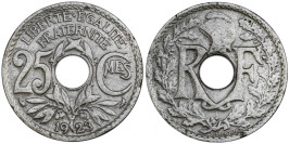 25 сантимов 1923 Франция