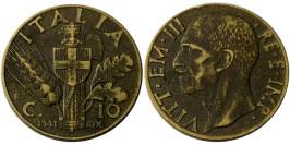10 чентезимо 1941 Италия
