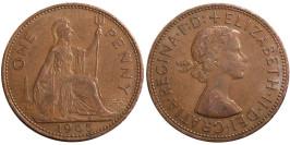 1 пенни 1965 Великобритания