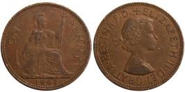 1 пенни 1962 Великобритания
