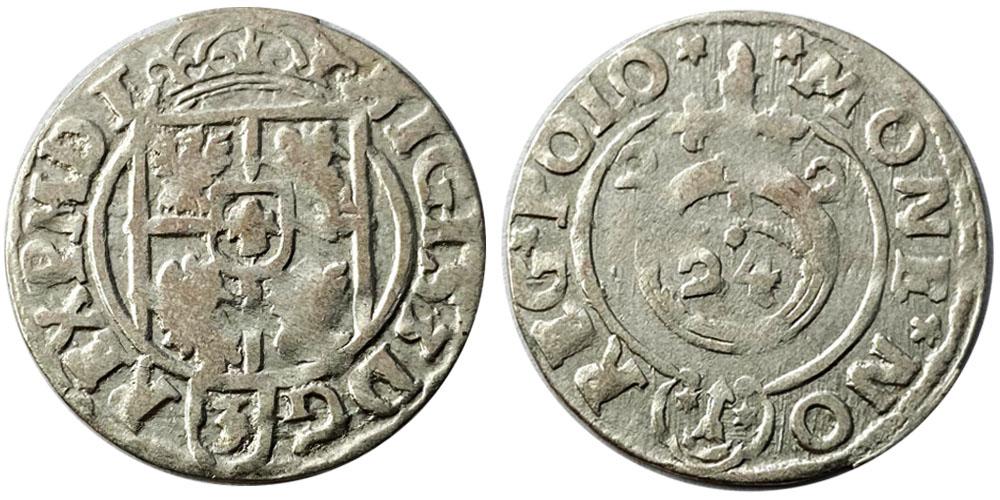 Полторак (1,5 гроша) 1622 Польша — Сигизмунд III — серебро №1