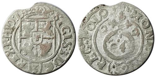Полторак (1,5 гроша) 1622 Польша — Сигизмунд III — серебро №2